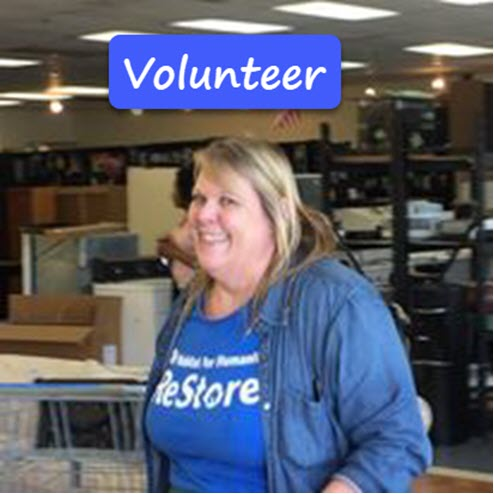 See how you can join the ReStore family as a volunteer