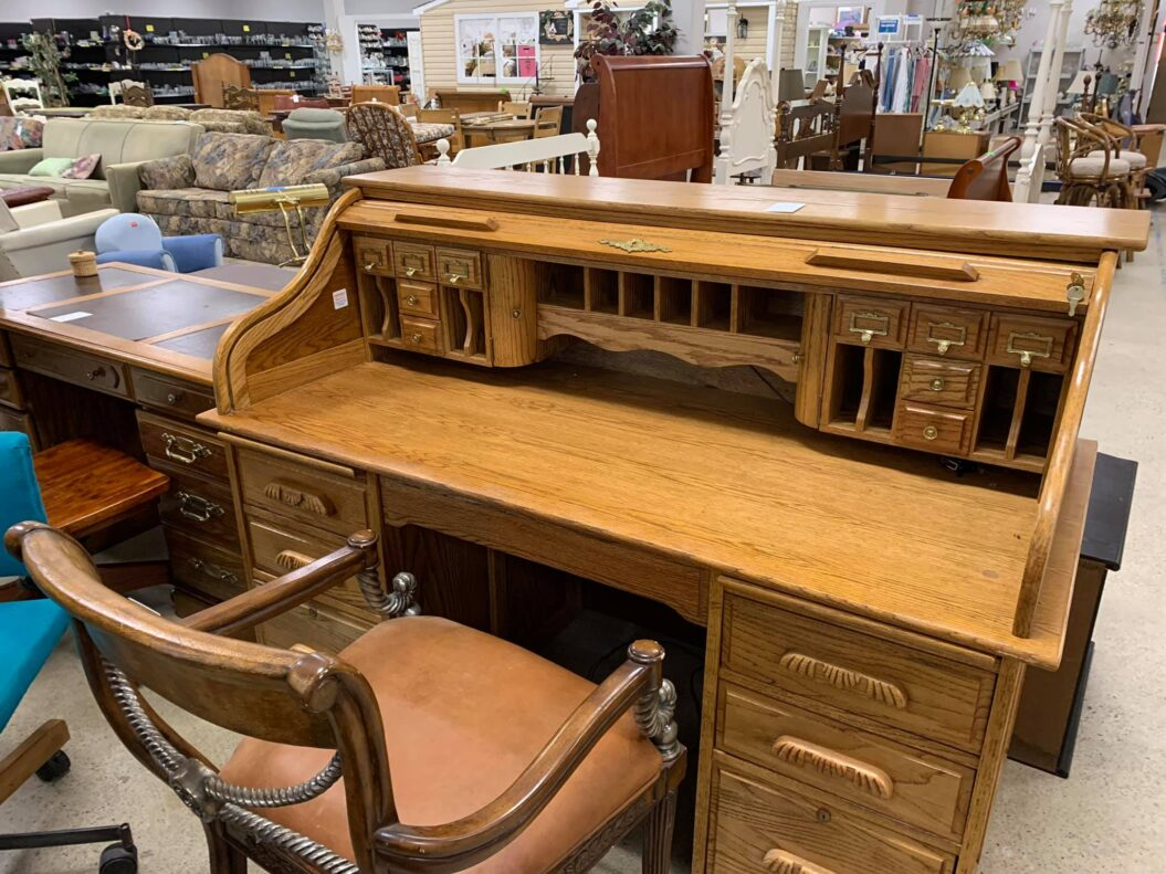 Desk and Chair - ReStore Price: Desk $189 Chair: $49