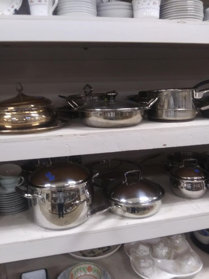 Pots & Pans - ReStore Prices usually range from$1 - $10