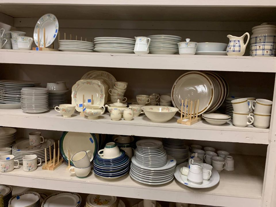 Dishware - ReStore Prices range from $1 - $10